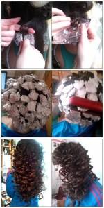 Come fare capelli ricci con cartine