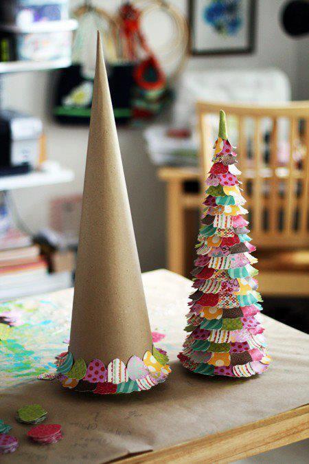 Come Fare Albero Di Natale Con Cartone Spettegolando