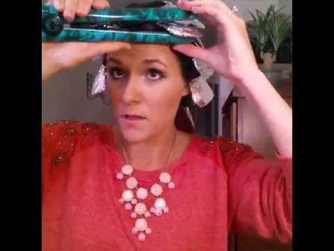Fare i capelli ricci con la carta stagnola