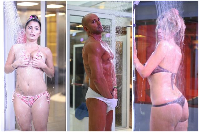 Alessia macari doccia hot al grande fratello vip - Grande fratello bagno ...