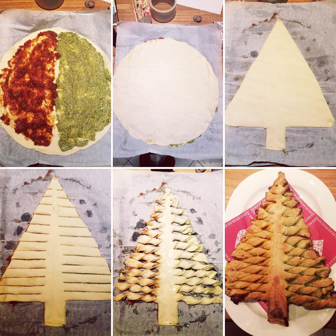 Albero Di Natale Pasta Sfoglia.Come Fare Albero Di Natale Con Pasta Sfoglia Spettegolando