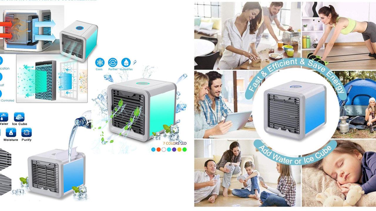 Rinfrescare Casa Fai Da Te artic cube condizionatore portatile ad acqua: funziona e