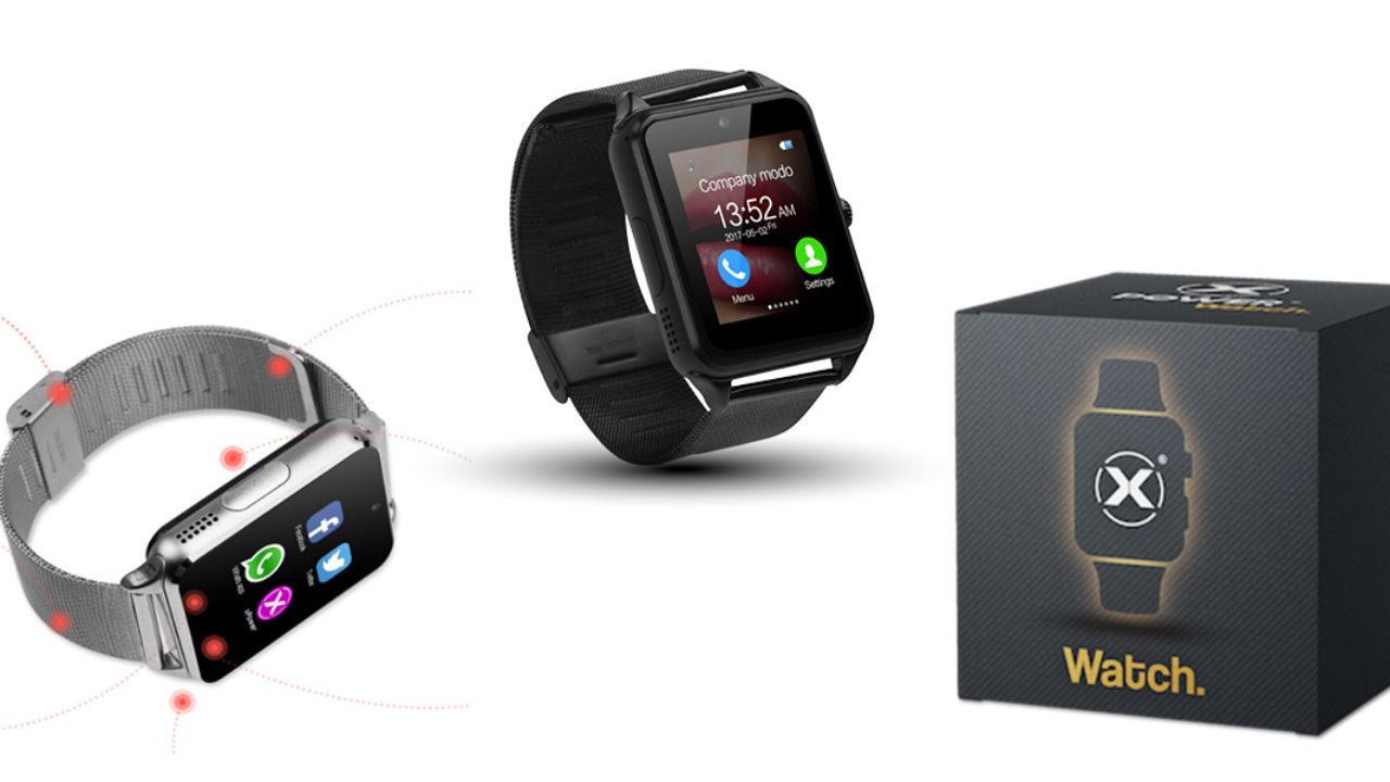 xPower Watch: Smartwatch Tuch screen con Bluetooth, funziona