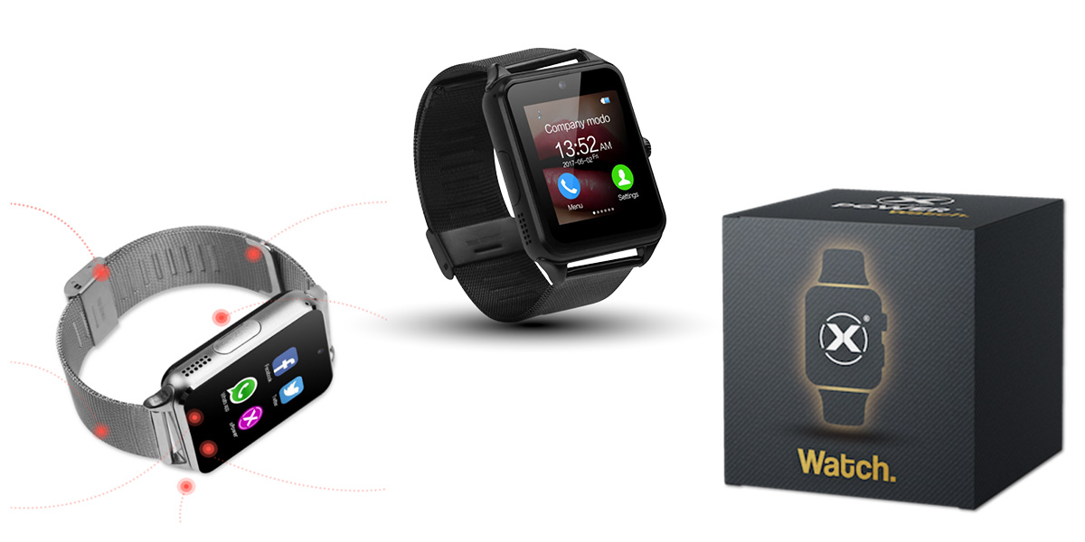 Xpower watch smartwatch tuch screen con bluetooth for Recensioni h2o power x