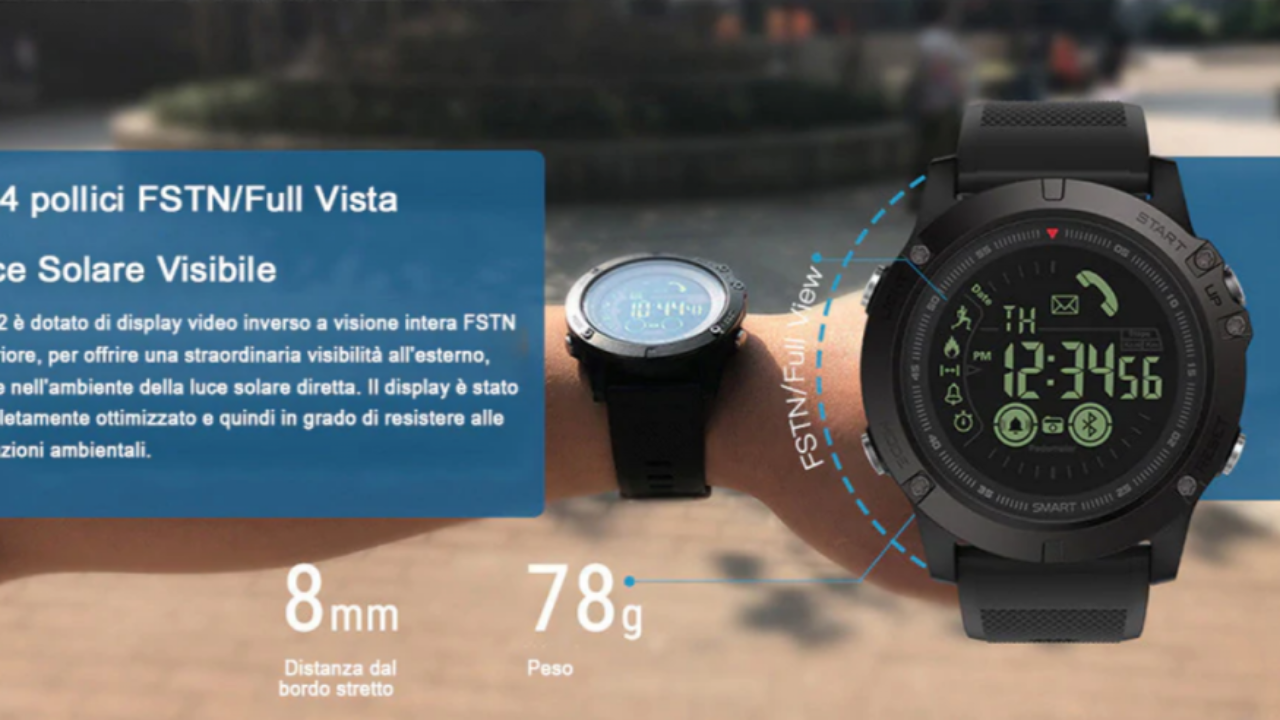 X Tactical Watch: orologio Smart Watch Android iOS