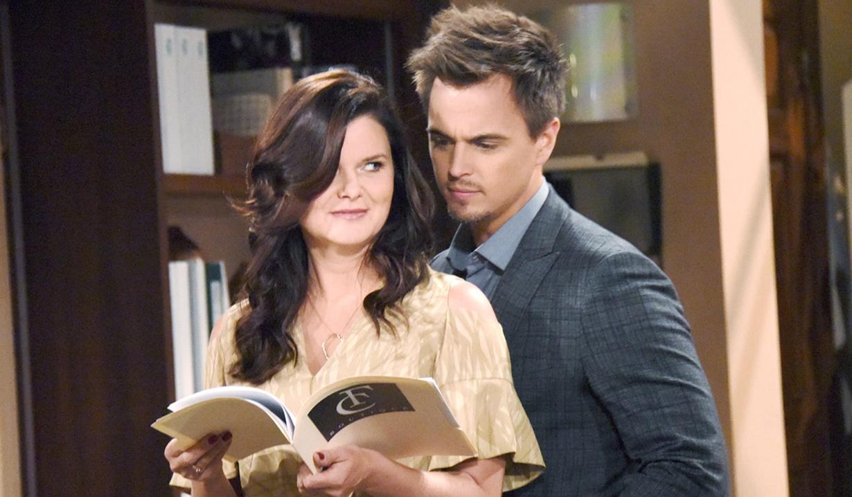Anticipazioni puntate Beautiful: Wyatt Spencer chiede a Katie Logan di sposarlo