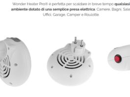 Wonder Heater Pro®: Stufa elettrica Portatile a basso consumo, Funziona e Riscalda l'Ambiente? Recensioni, Opinioni e dove comprarlo
