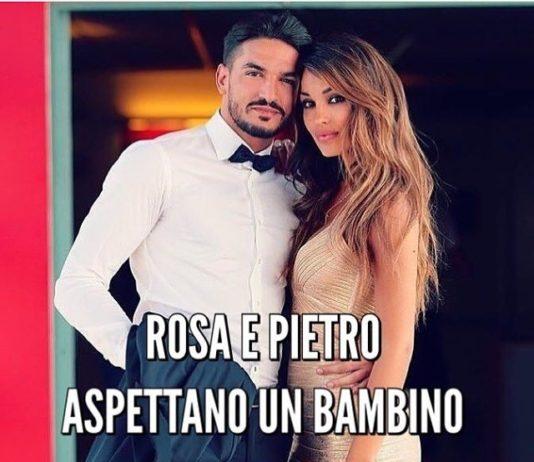 """Rosa Perrotta e Pietro Tartaglione di Uomini e Donne aspettano un figlio: """"incinta di tre mesi"""""""