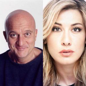 Virginia Raffaele e Claudio Bisio affiancheranno Claudio Baglioni a Sanremo 2019