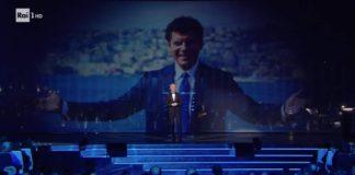 Claudio Bgalioni ricorda Fabrizio Frizzi al Festival di Sanremo 2019