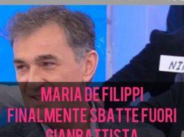 Maria De Filippi caccia Gianbattista dal Trono Over di Uomini e Donne: ecco il motivo