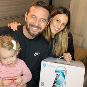 Alessandra De Angelis è diventata mamma per la seconda volta: nato Enea