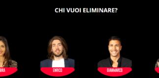 Grande Fratello 16 Televoto seconda settimana: nominati Ambra, Enrico, Gianmarco e Serena