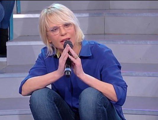 """Maria De Filippi caccia Gianbattista da Uomini e Donne Trono Over: """"te ne devi andare"""""""