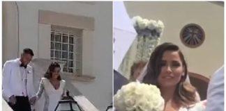 Alessia Macari e Oliver Kragl si sono sposati: nozze blindate a Foggia