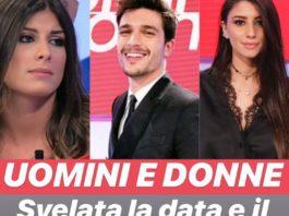 La scelta dei tronisti Angela Nasti, Giulia Cavaglia e Andrea Zelletta: registrazione 27 Maggio 2019