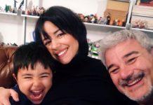 Pino Insegno nuovamente padre a 60 anni: la moglie Alessia è in dolce attesa
