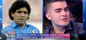 Santiago Lara è il figlio segreto di Diego Armando Maradona? Richiesto il DNA