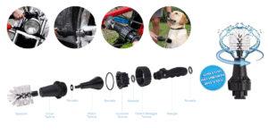 Brush Vortex®: spazzola pulitrice ad acqua da giardino per pulizia animali domestici, auto, bici e moto, funziona davvero? Recensioni, opinioni e dove comprarlo