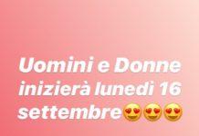 Uomini e Donne data inizio stagione 2019/2020: da Lunedì 16 Settembre 2019 su Canale 5
