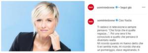 Maria De Filippi ricorda Nadia Toffa su i social: