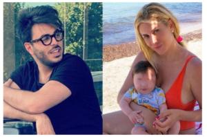 Paola Caruso contro il padre di suo figlio Michele: