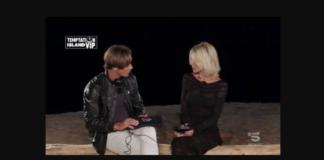 Il falò di confronto traNathaly Caldonazzo e Andrea Ippoliti a Temptation Island 2