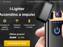 I-Lighter: Accendino ad Impulsi elettrici impermeabile e ricaricabile con USB, funziona davvero? Recensioni, opinioni e dove comprarla
