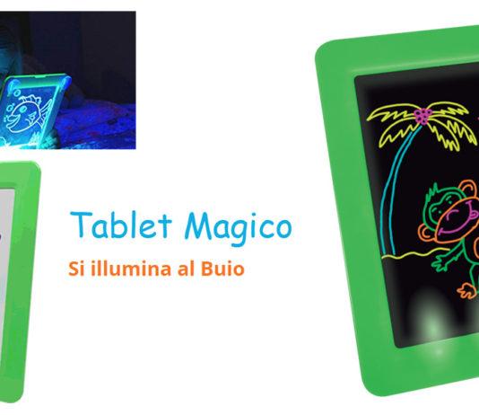 Tablet Magico (DMC): lavagnetta portatile con schede e 8 effetti di luce per bambini, funziona davvero? Recensioni, opinioni e dove comprarlo