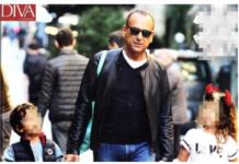 """Carlo Conti a passeggio con la figlia di Fabrizio Frizzi: """"mi chiama Babbo Conti"""""""