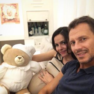 Gabriele Greco e Alessandra Mammolo sono divenuti genitori: è nata Galatea