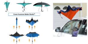 Better Brella: ombrello con apertura e chiusura reversibile antivento e antisgocciolamento, funziona davvero? Recensioni, opinioni e dove comprarlo