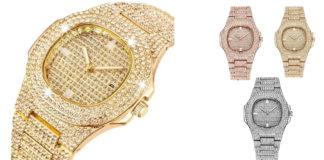 Diamond Watch: orologio diamantato con cassa in acciaio inossidabile, funziona davvero? Recensioni, opinioni e dove comprarlo
