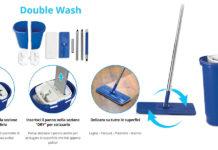Double Wash: Sistema Lavapavimenti Autopulente a 2 Scomparti, funziona davvero? Recensioni, opinioni e dove comprarlo