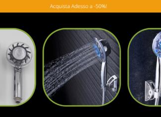 Led Shower: Soffione Doccia con filtro e pietre minerali, davvero purifica l'acqua? Recensioni, opinioni e dove comprarlo