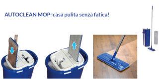 Auto Clean Mop: Sistema Lavapavimenti Autopulente a 2 Scomparti, funziona davvero? Recensioni, opinioni e dove comprarlo