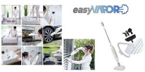 Easy Vapor (Dmc): Scopa a Vapore per Superfici e Pavimenti 10 in 1, funziona davvero? Recensioni, opinioni e dove comprarla