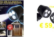 Luce Guardia: luce di Sicurezza a LED Senza Cavi o Fili e con sensore di movimento, funziona davvero? Opinioni e dove comprarla