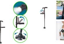 Bastone Sicuro (DMC): Bastone da Passeggio pieghevole con Luce a Led, funziona davvero? Recensioni, opinioni e dove comprarlo
