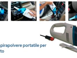 Car Vacuum: Aspirapolvere portatile per auto completa di accessori, funziona davvero? Recensioni, opinioni e dove comprarla