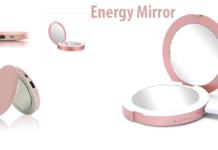 Energy Mirror: Specchietto da Trucco con luce a LED e Power Bank incorporato, funziona davvero? Recensioni, opinioni e dove comprarlo