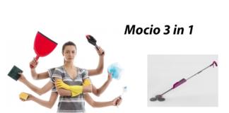 Mocio 3 in 1 (DMC): Mocio triplo con nebulizzatore, per pulire e lucidare superfici e pavimenti, funziona davvero? Recensioni, opinioni e dove comprarlo