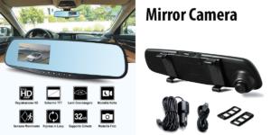 Mirror Camera:telecamera per autoche si aggancia allospecchietto retrovisore, registraaudio e video, funziona davvero? Caratteristiche, opinioni e dove comprarla