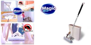 Magic Mop: mocio e scopa 2 in 1 con secchio per lavaggio e asciugatura, funziona davvero? Caratteristiche, opinioni e dove comprarlo