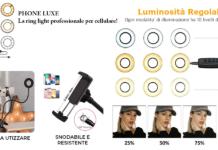 Phone Luxe: ring light professionale per scattare foto e registrare video, funziona davvero? Caratteristiche, opinioni e dove comprarlo