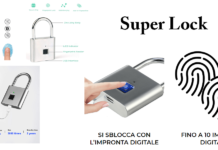 Super Lock: lucchetto ad impronta digitale, funziona davvero? Caratteristiche, opinioni e dove comprarlo