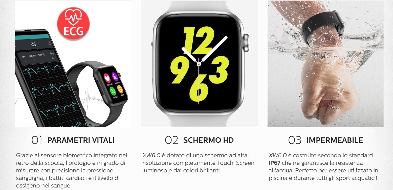 X-Watch 6.0: Smartwatch Touch screen con Bluetooth, funziona davvero? Caratteristiche, Opinioni e dove acquistarlo