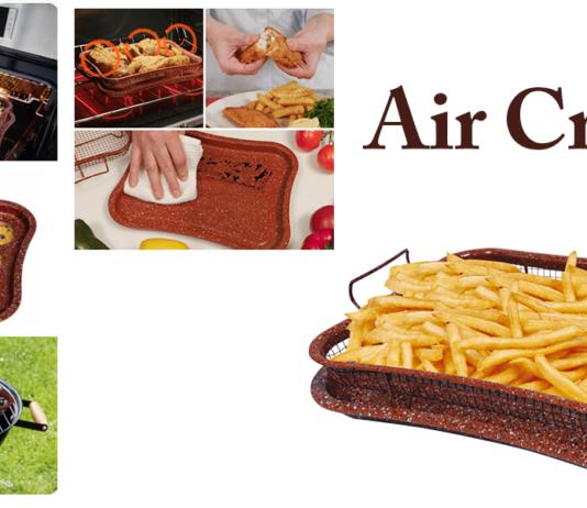 Air Crispy: padella multiuso per cucinare, grigliare o friggere senza olio o grasso aggiunto, funziona davvero? Caratteristiche, opinioni e dove comprarlo