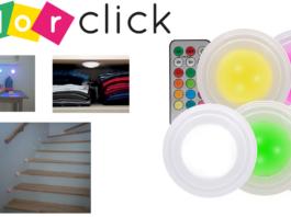 Color Click: luce a led senza fili con 12 differenti variazioni di colore, funziona davvero? Caratteristiche, opinioni e dove comprarlo