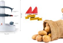 Food Shaver: Pelapatate, frutta e verdura automatico con lame in acciaio, funziona davvero? Caratteristiche, opinioni e dove comprarlo